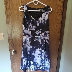 Cute flower print ALine dress! Worn 1 time